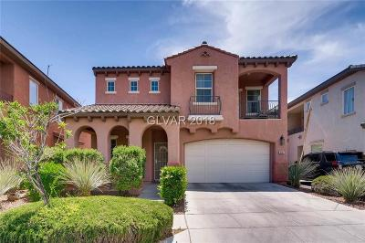 Las Vegas Single Family Home For Sale: 10387 Howling Coyote Avenue