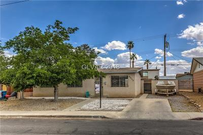 Las Vegas Single Family Home Contingent Offer: 6533 Brandywine Way