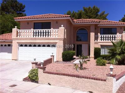 Las Vegas Single Family Home For Sale: 2801 Shadow Creek Circle