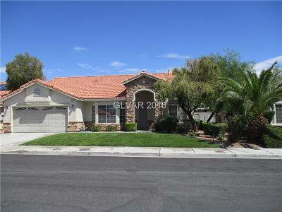 Las Vegas Single Family Home For Sale: 5224 Still Breeze Avenue