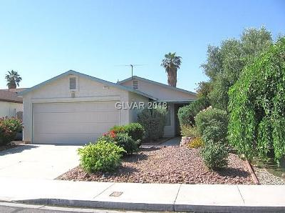 Las Vegas Single Family Home For Sale: 5739 Mabel Road