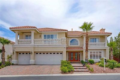 Las Vegas Single Family Home For Sale: 6467 Bright Nimbus Avenue