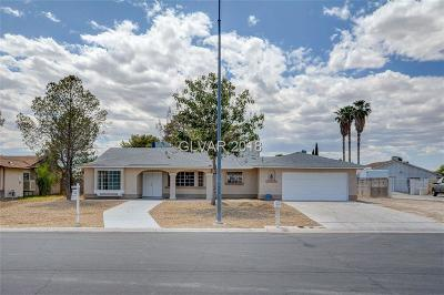 North Las Vegas Single Family Home For Sale: 4637 Pony Express Street