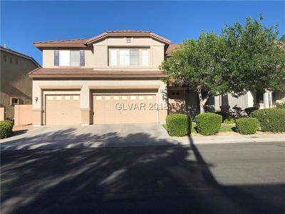 Las Vegas Single Family Home For Sale: 604 Joe Willis Street