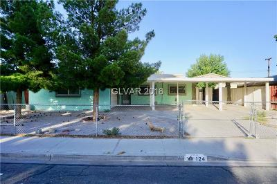 Las Vegas Single Family Home Contingent Offer: 124 Prince Lane