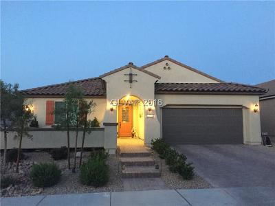 Henderson Single Family Home For Sale: 1168 Scenic Edge Street