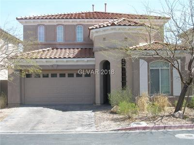 Las Vegas Single Family Home For Sale: 2290 Tulip Tree Street