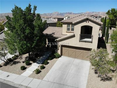 Las Vegas Single Family Home For Sale: 517 Ivy Spring Street
