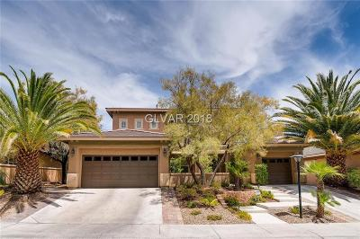 LAS VEGAS Single Family Home For Sale: 1012 Sparkling Amber Court