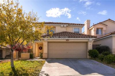 Las Vegas Single Family Home For Sale: 1920 Empoli Court