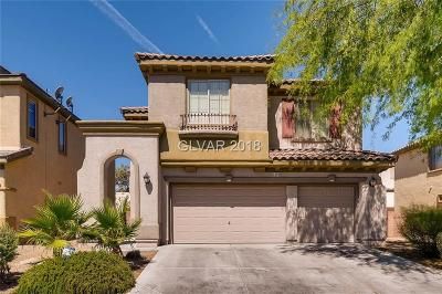 North Las Vegas Single Family Home For Sale: 4009 Coleman Street