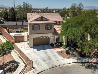 North Las Vegas Single Family Home For Sale: 3715 Champagne Wood Drive