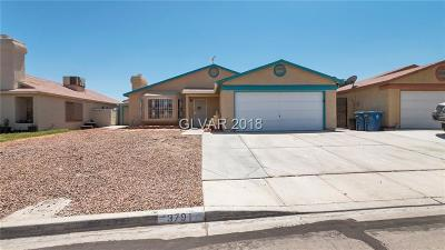 LAS VEGAS Single Family Home For Sale: 3791 Full Moon Drive