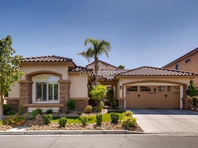 Las Vegas Single Family Home For Sale: 2229 Timber Rose Drive