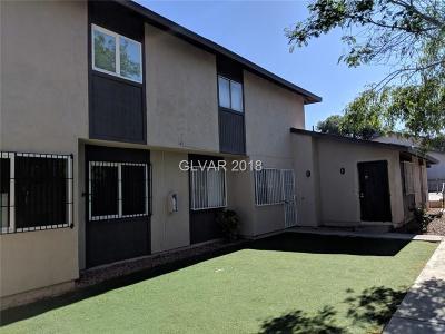 Las Vegas Condo/Townhouse For Sale: 209 North 18th Street #B
