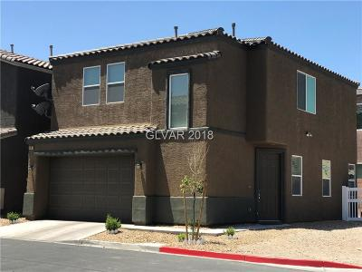 Las Vegas Single Family Home For Sale: 5135 Longiano Place