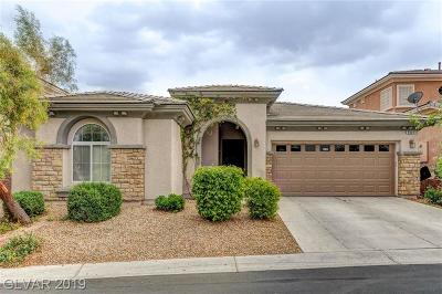 Las Vegas Single Family Home For Sale: 8809 Mount Mira Loma Avenue