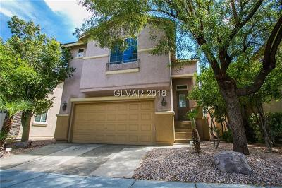 Las Vegas Single Family Home For Sale: 7023 Sombra Way