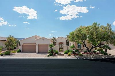 Las Vegas Single Family Home For Sale: 4747 Atlantico Street