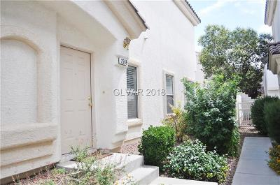 Henderson Condo/Townhouse For Sale: 2569 Land Rush Drive