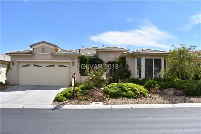 Las Vegas Single Family Home For Sale: 4859 Denaro Drive