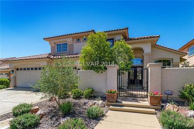 Las Vegas Single Family Home For Sale: 5437 San Bellasera Court