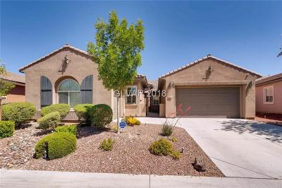 Las Vegas NV Single Family Home For Sale: $620,000