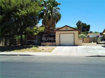 Las Vegas NV Single Family Home For Sale: $160,000