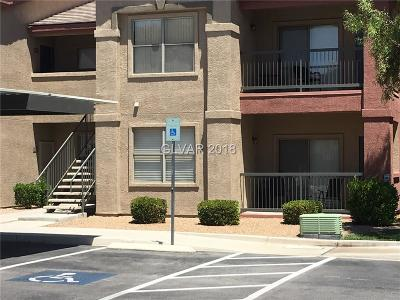 Las Vegas Condo/Townhouse For Sale: 8000 West Badura Avenue #1086