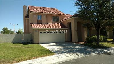 Las Vegas  Single Family Home For Sale: 8728 Magnolia Ridge Avenue