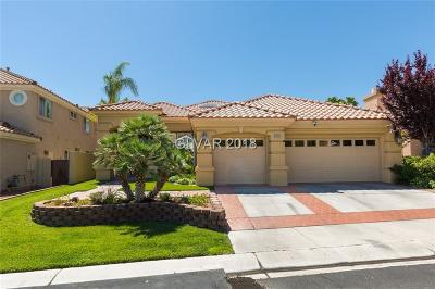 Las Vegas Single Family Home For Sale: 8809 Bonta Court