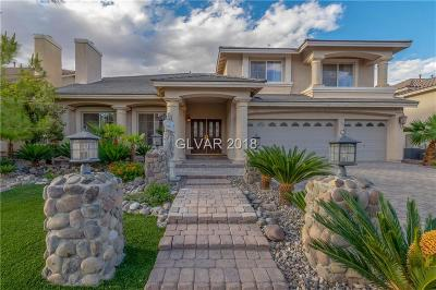 Las Vegas Single Family Home Under Contract - No Show: 4456 Melrose Abbey Place