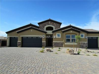 Clark County Single Family Home For Sale: 7154 Nodding Thistle Court #LOT 10