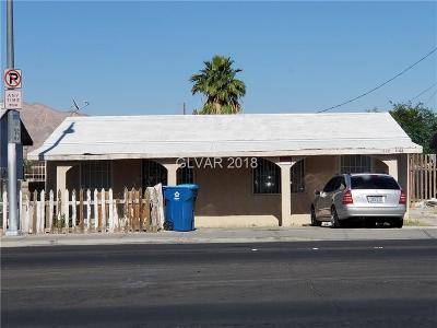 Las Vegas Multi Family Home For Sale: 1140 Palm Street
