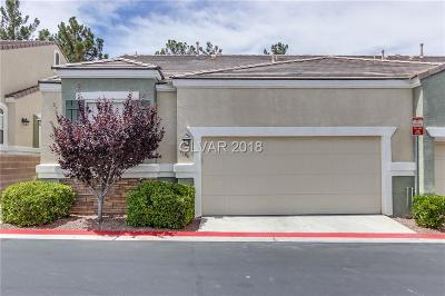 Las Vegas NV Condo/Townhouse Under Contract - No Show: $322,000