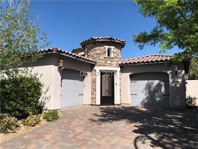 Las Vegas Single Family Home For Sale: 11992 Whitehills Street