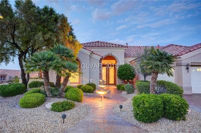 Sun City Summerlin Single Family Home Contingent Offer: 2244 Barbers Point Place