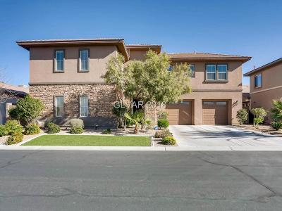 Henderson NV Single Family Home For Sale: $640,000