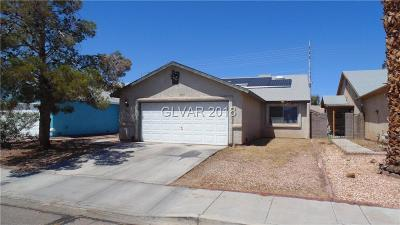 Las Vegas Single Family Home Contingent Offer: 4661 Bumblebee Circle