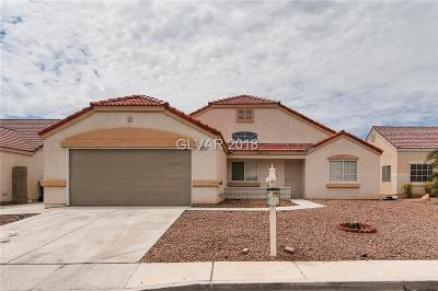 North Las Vegas NV Single Family Home Under Contract - Show: $271,999