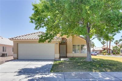 Las Vegas NV Single Family Home Under Contract - No Show: $271,000