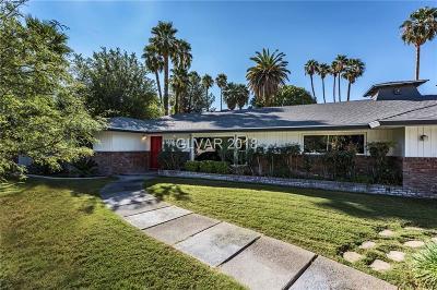 Las Vegas Single Family Home For Sale: 1919 Waldman Avenue