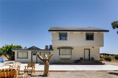 Clark County Single Family Home Contingent Offer: 4387 Lake Mead Boulevard