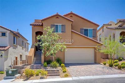Las Vegas Single Family Home For Sale: 11911 Montanesa Avenue