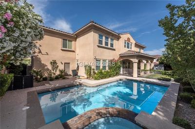 Las Vegas Single Family Home Contingent Offer: 631 South Coriander Canyon Court