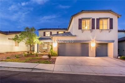Las Vegas Single Family Home For Sale: 6422 Scotts Crossing Street