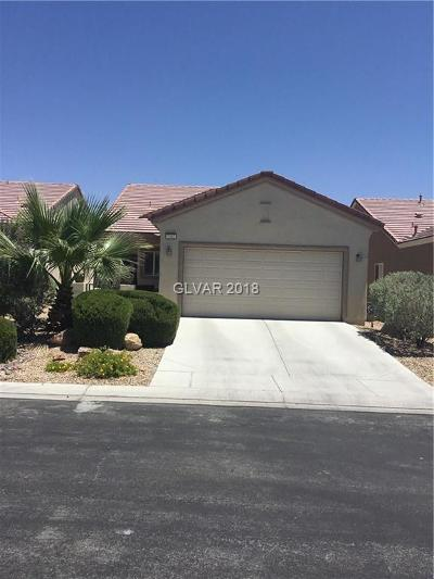 North Las Vegas Single Family Home Under Contract - No Show: 7362 Grassquit Street