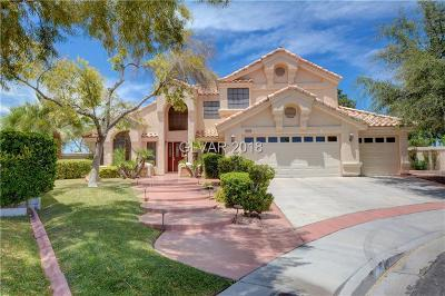 Henderson Single Family Home Under Contract - No Show: 2602 Elko Circle