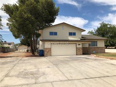 Clark County Single Family Home For Sale: 5222 West Lake Mead Boulevard