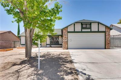 Boulder City Single Family Home For Sale: 774 Christina Drive